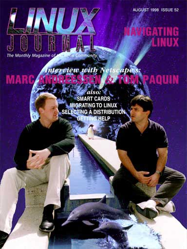 Linux Journal Cover